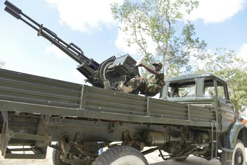 Armée Somalienne / Military of Somalia 4376