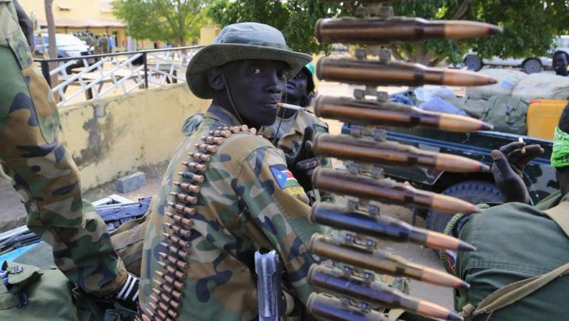 Armées du Sud Soudan 4454