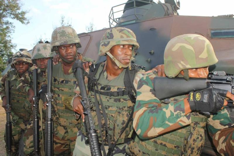 Force de défense de la Jamaïque / jamaica defence force (JDF) 5124