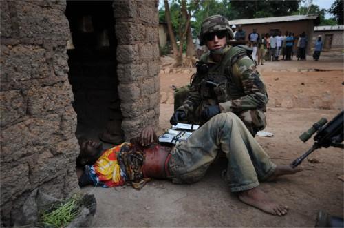 Intervention militaire en Centrafrique - Opération Sangaris 596