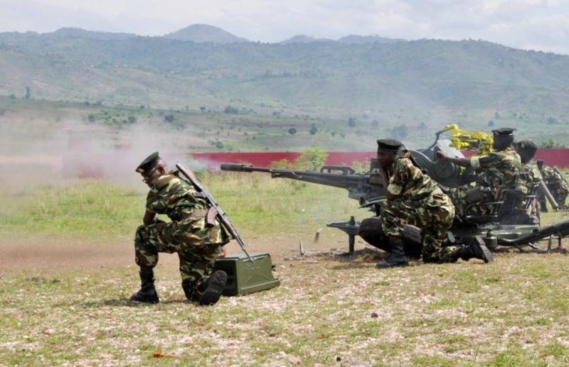 Forces armées du Burundi / National Defence Force of Burundi 631