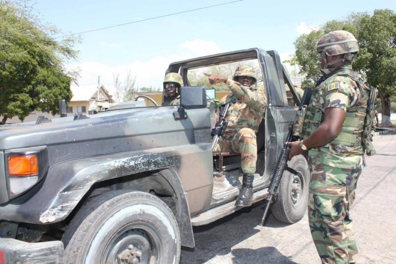 Force de défense de la Jamaïque / jamaica defence force (JDF) 692