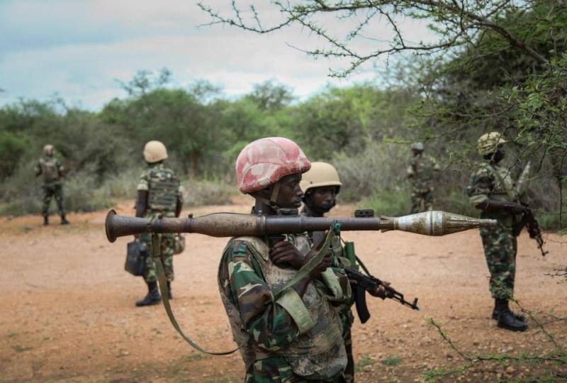 Forces armées du Burundi / National Defence Force of Burundi 725