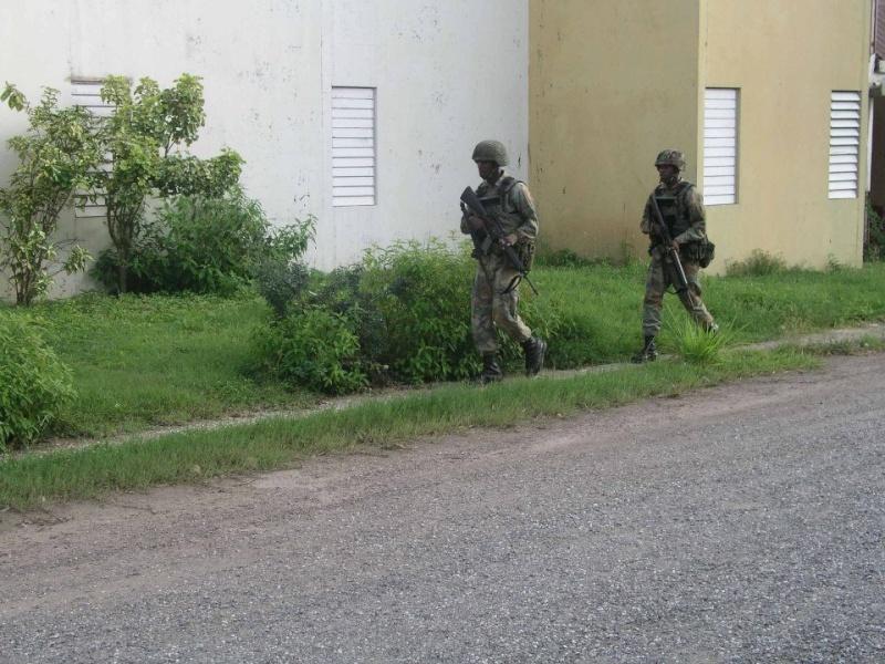 Force de défense de la Jamaïque / jamaica defence force (JDF) 864