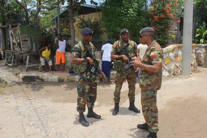 Force de défense de la Jamaïque / jamaica defence force (JDF) 956