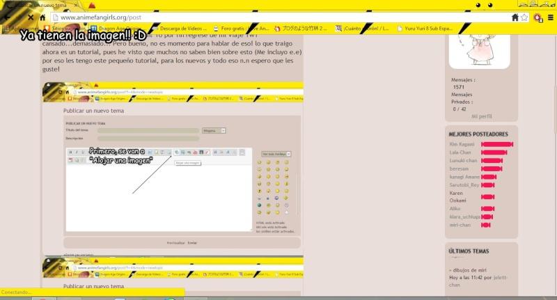 [Tutorial] Cómo subir fotos desde tu PC, desde el foro. Tutori17