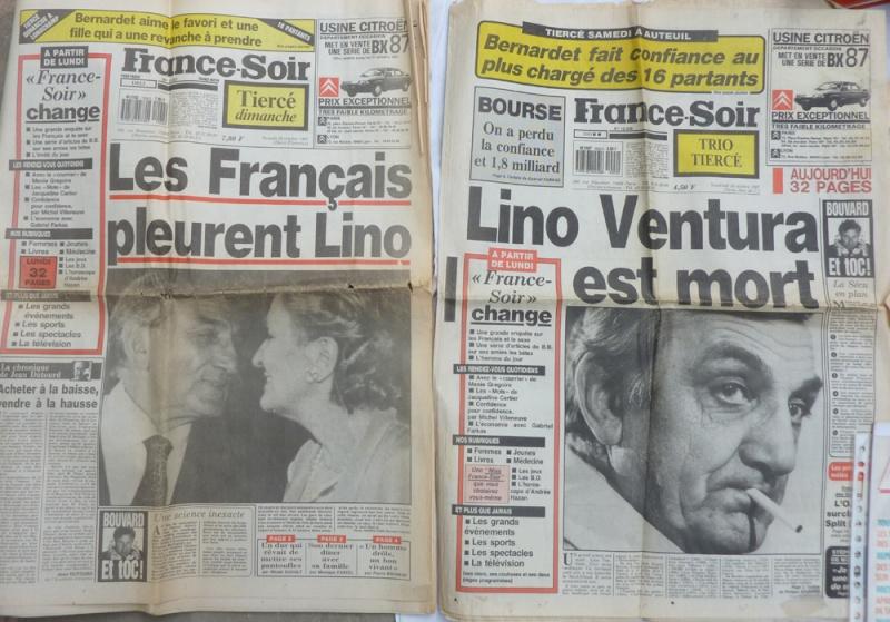 vends toute ma collection Lino Ventura  Lino110