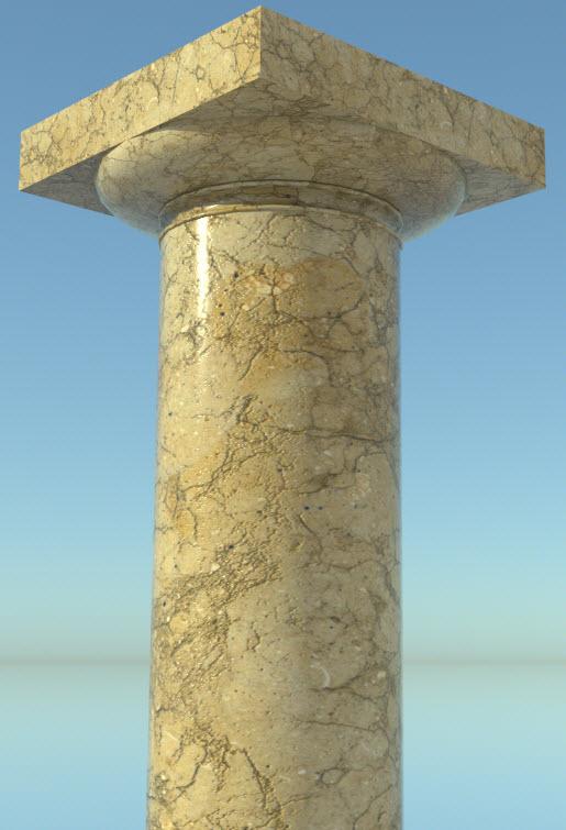 Composant dynamique : colonne a cannelures 27-01-13