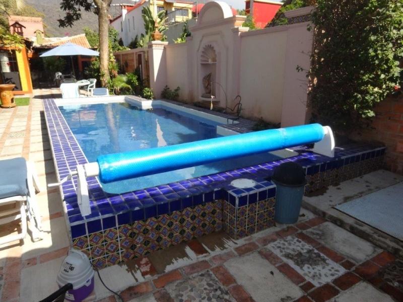 Custom made Pool Cover Reel Dsc04814