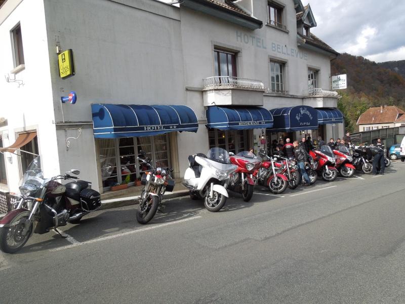 Balade dimanche 27 octobre 2013 POWER motos BESANCON B610