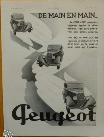 3 raisons d' acheter Peugeot   Publicité d'époque 2013-110