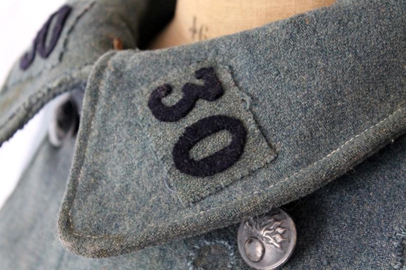 Capote BH mle 1915 datée 1917 - ESC 1 - Vendue Img_4348