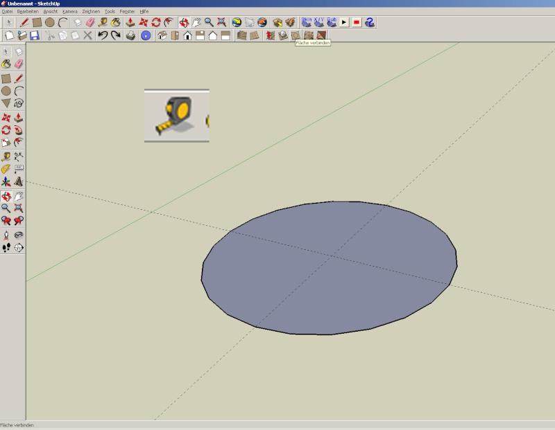 Sketchup und Pepakura - Ein paar grundsätzliche Dinge Kuppel11