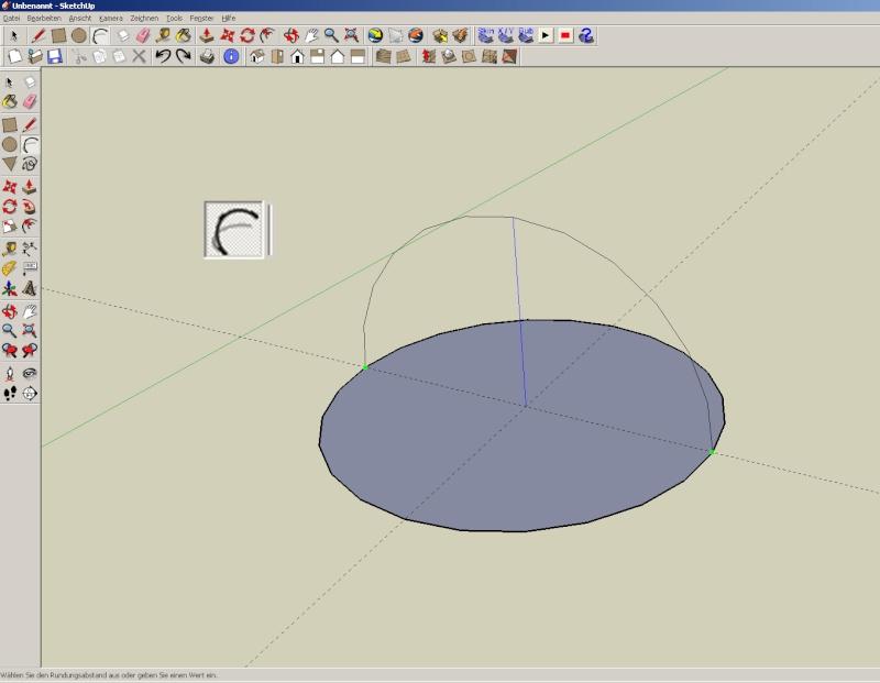 Sketchup und Pepakura - Ein paar grundsätzliche Dinge Kuppel12