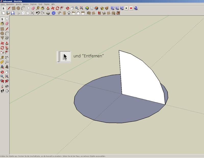 Sketchup und Pepakura - Ein paar grundsätzliche Dinge Kuppel14