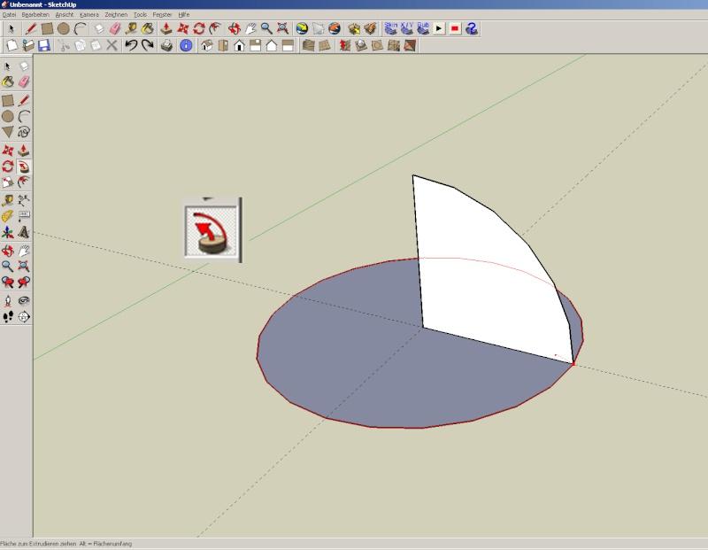Sketchup und Pepakura - Ein paar grundsätzliche Dinge Kuppel15