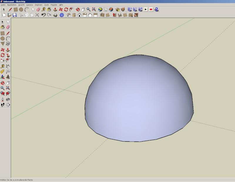 Sketchup und Pepakura - Ein paar grundsätzliche Dinge Kuppel16