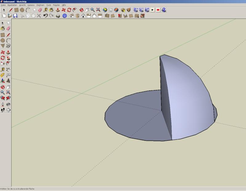 Sketchup und Pepakura - Ein paar grundsätzliche Dinge Kuppel17