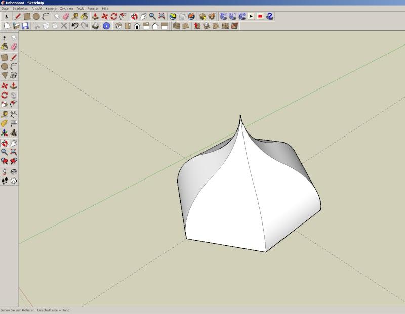 Sketchup und Pepakura - Ein paar grundsätzliche Dinge Kuppel30