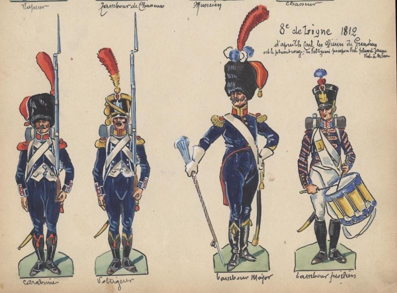 Grenadier 15e régiment Infanterie de la ligne Espagne 1807 MM 54m (modifications)  - Page 4 Album_12