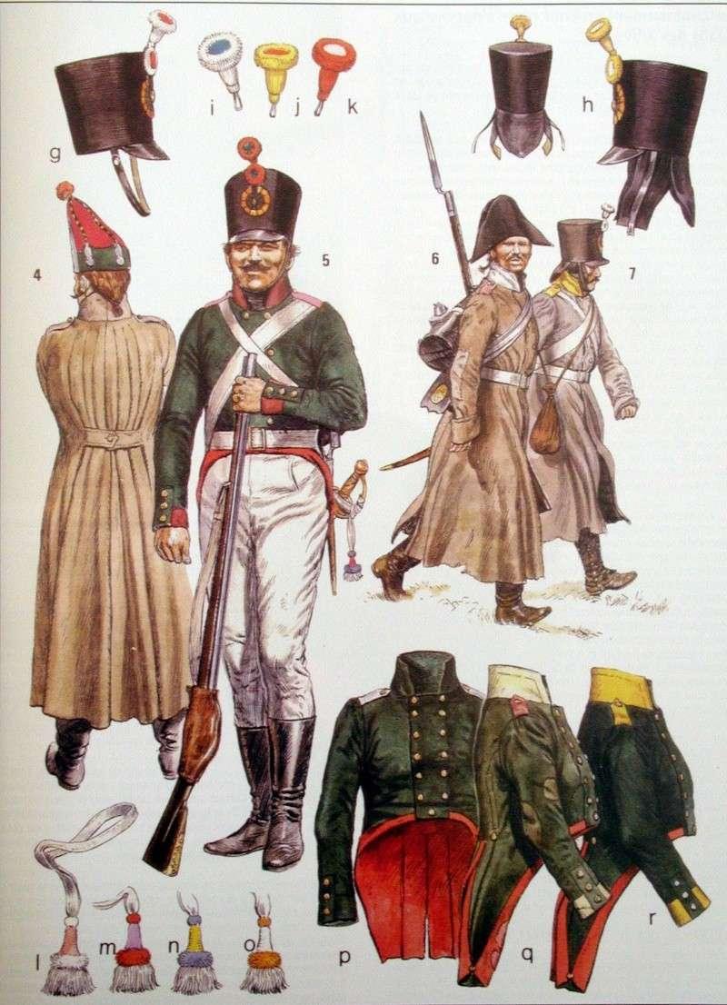 Buste de vétéran Russe à Eylau par Giacomel  Inf_ru10