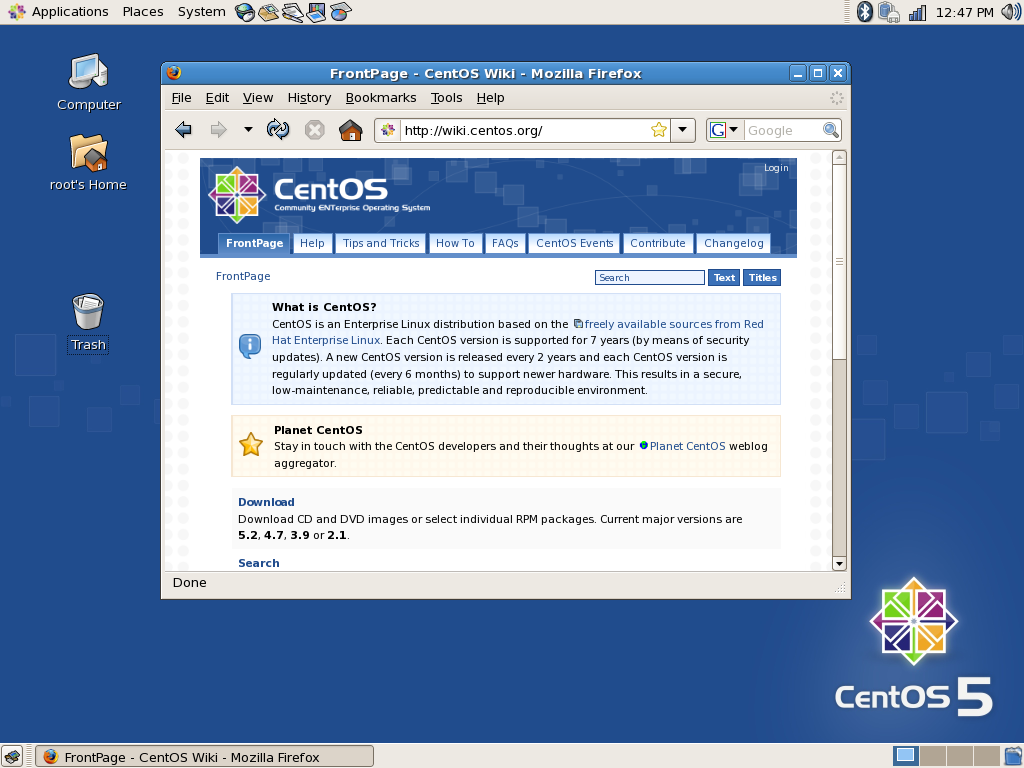 EsLinux - Portal Centos10