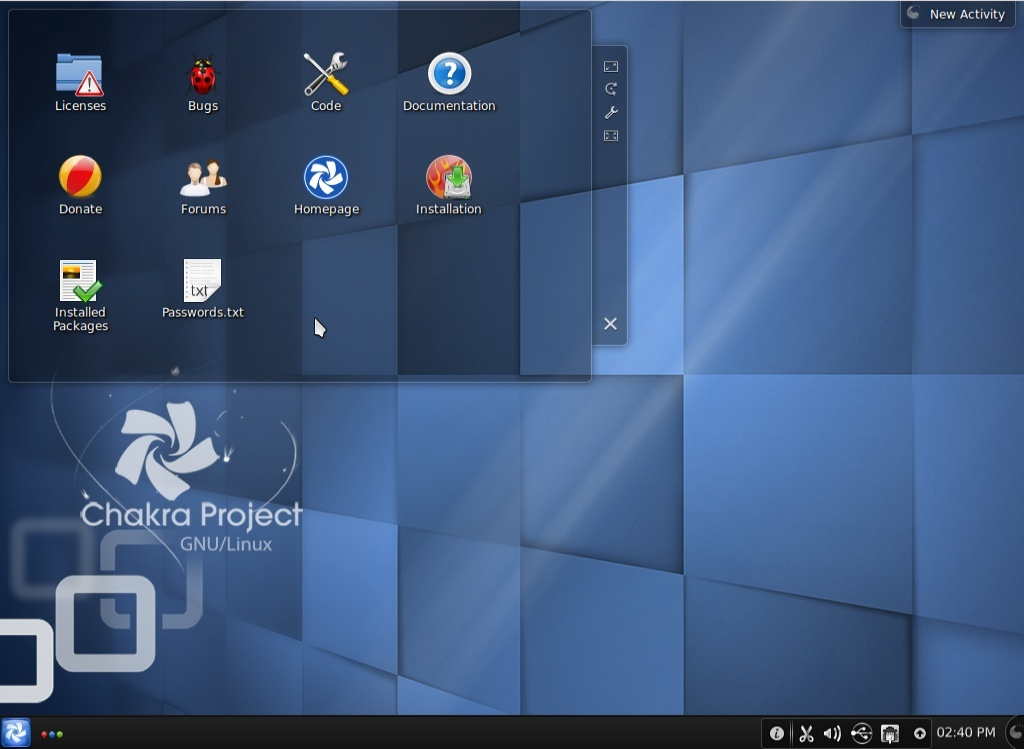 EsLinux - Portal Chakra10