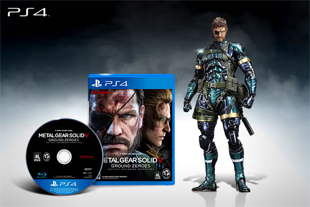 Metal Gear Solid V Ground Zeroes: Premium Package Metal-10