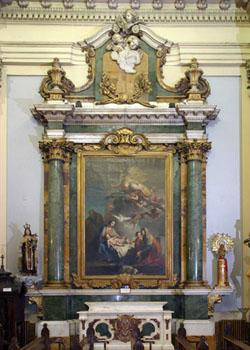Dos iglesias cercanas en el Barrio de Justicia: San Pascual Bailón y Santa Bárbara  Cuadro10