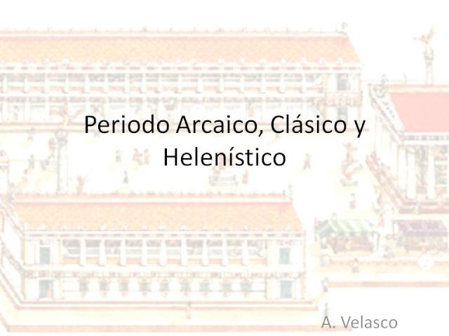 ~~Historia Antigua~~ Grecia: Periodo Arcáico, Clásico y Helenístico  Diapos10