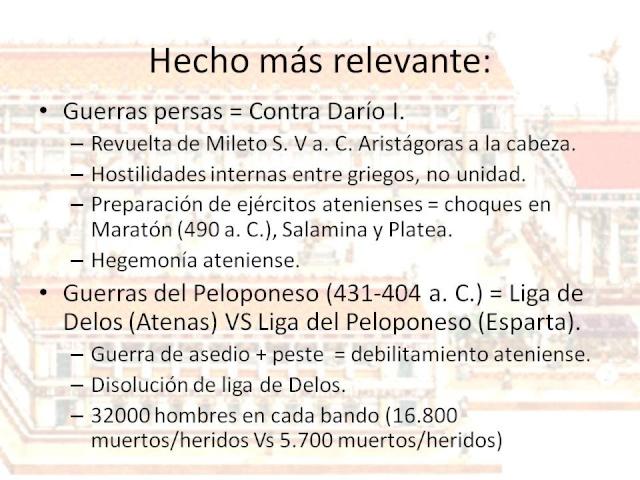 ~~Historia Antigua~~ Grecia: Periodo Arcáico, Clásico y Helenístico  Diapos68