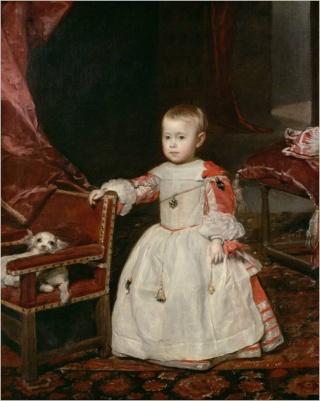 Velázquez y la familia de Felipe IV en el Museo del Prado Imagen31