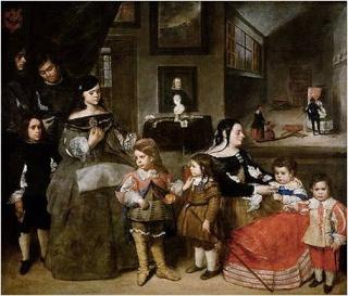 Velázquez y la familia de Felipe IV en el Museo del Prado Imagen37