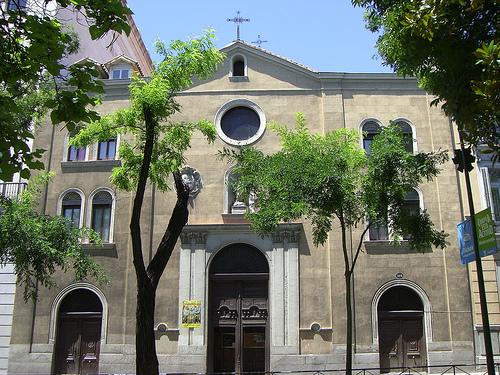 Dos iglesias cercanas en el Barrio de Justicia: San Pascual Bailón y Santa Bárbara  San-pa10