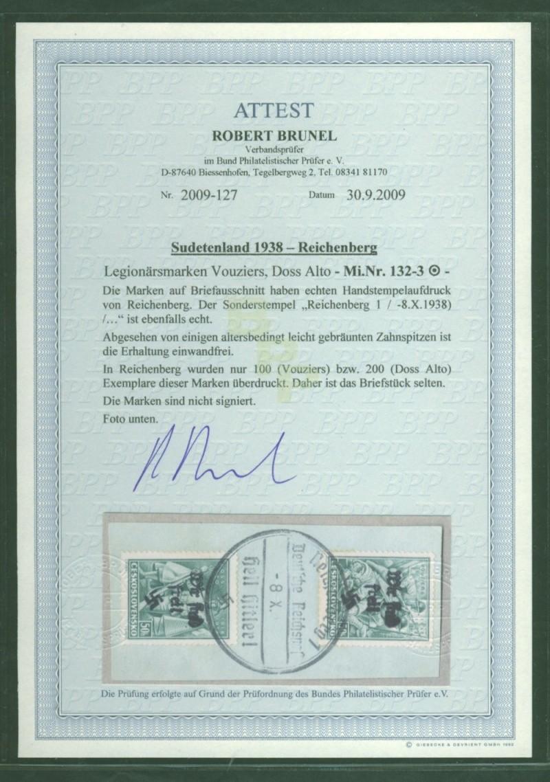 sudetenland - Sudetenland - Ausgabe für Reichenberg 132__110