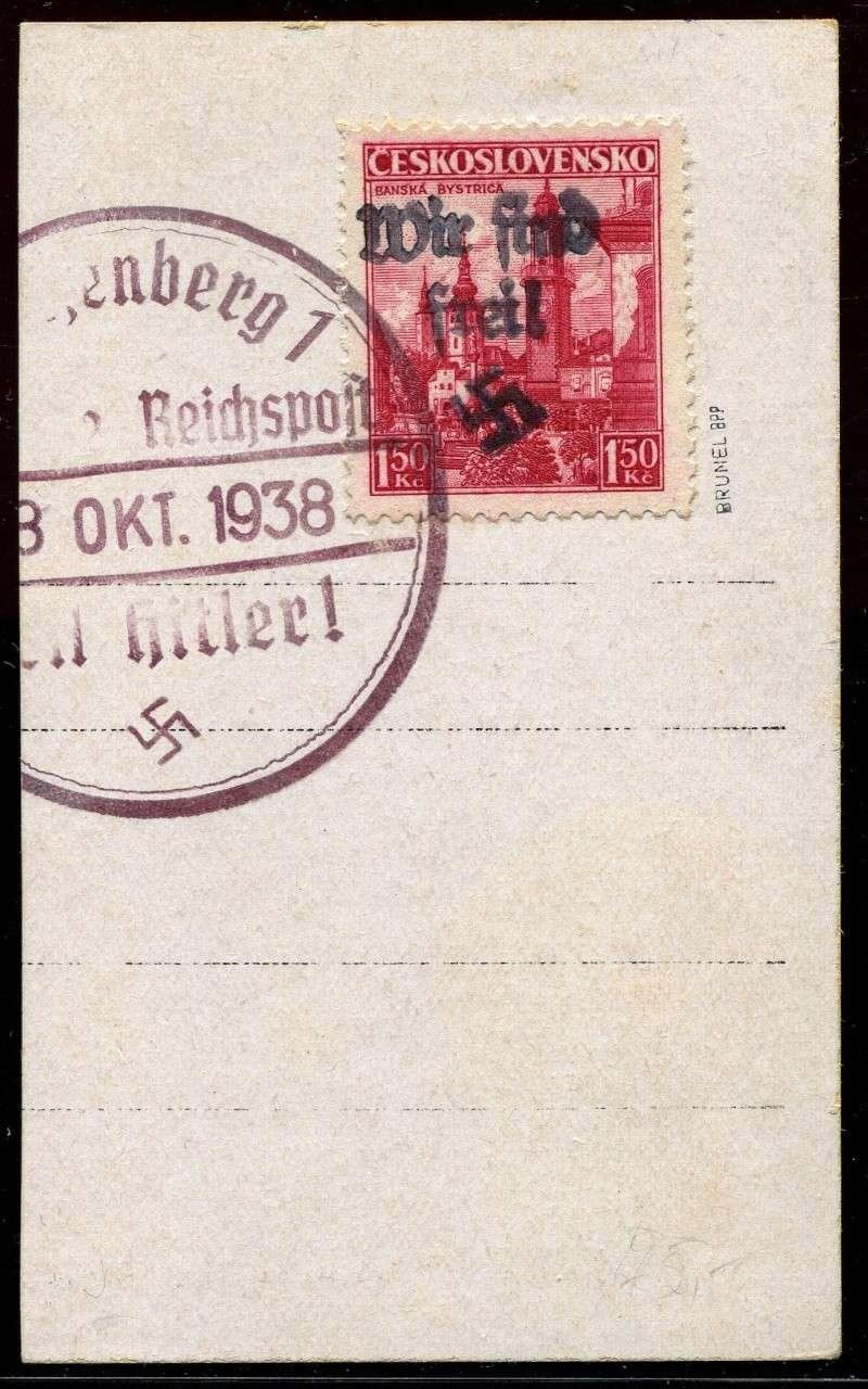 sudetenland - Sudetenland - Ausgabe für Reichenberg 26_kar10