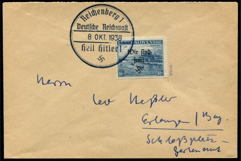 sudetenland - Sudetenland - Ausgabe für Reichenberg 33_bri11