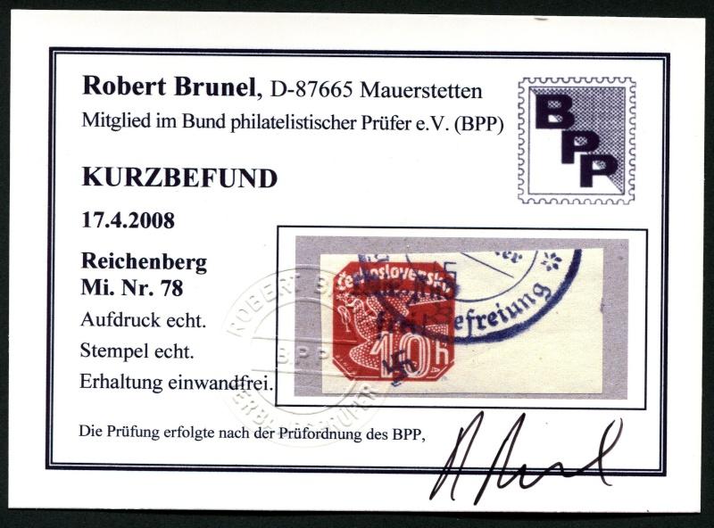 sudetenland - Sudetenland - Ausgabe für Reichenberg 78_ges11