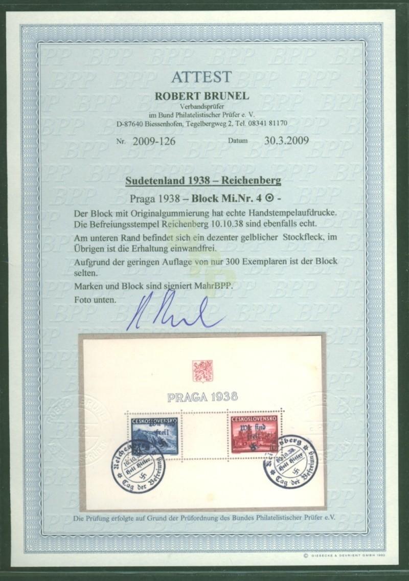 sudetenland - Sudetenland - Ausgabe für Reichenberg 80__8111