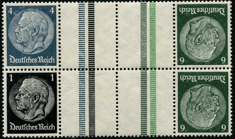 Deutsches Reich Zusammendrucke und Markenheftchen Deutsc16