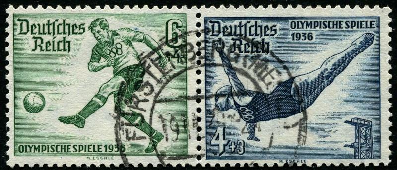 Deutsches Reich Zusammendrucke und Markenheftchen Deutsc17