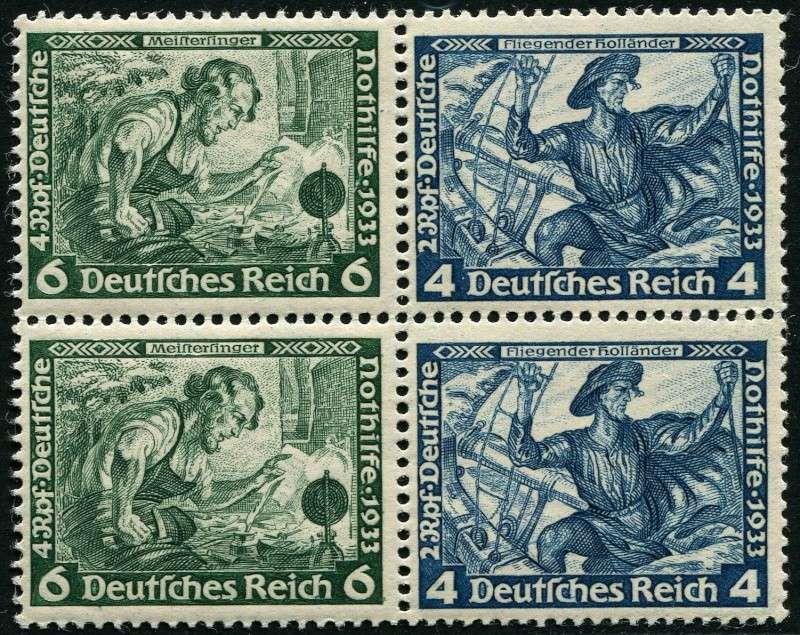 Deutsches Reich Zusammendrucke und Markenheftchen Deutsc19