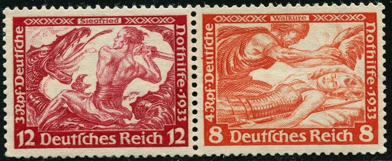 Deutsches Reich Zusammendrucke und Markenheftchen Deutsc20