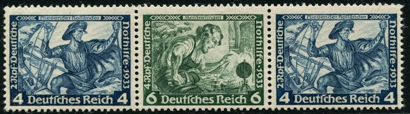 Deutsches Reich Zusammendrucke und Markenheftchen Deutsc21