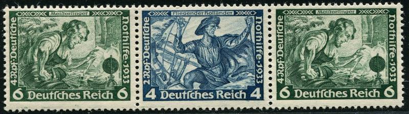 Deutsches Reich Zusammendrucke und Markenheftchen Deutsc22
