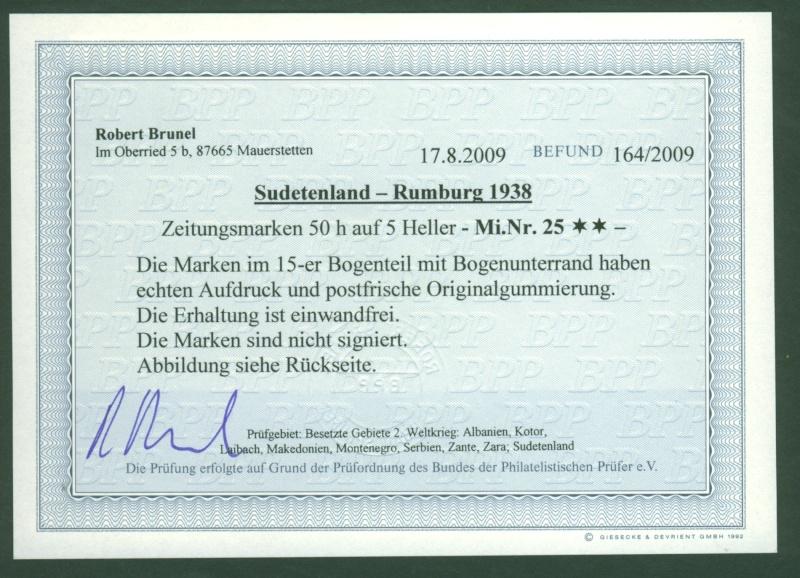 sudetenland - Sudetenland - Ausgaben für Rumburg Rumbur11