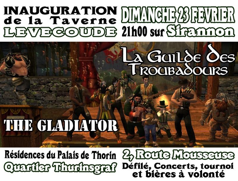 [ANIMATION] Inauguration de la Taverne Lèvecoude 20140210
