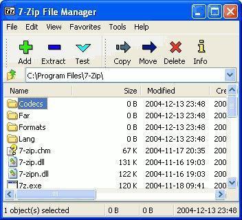 Sostituto WinRAR gratuito per aprire file zip, rar ect. - 7-Zip 1265110