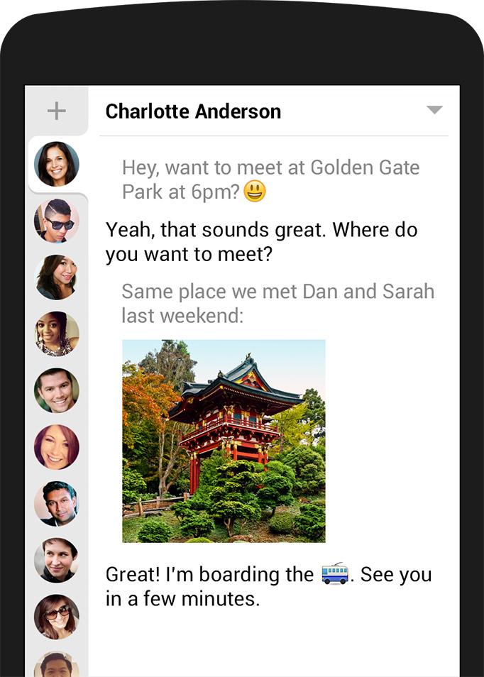 Invia SMS dal tuo smartphone con maggiore stile (Android) - hello sms 17pkwp10