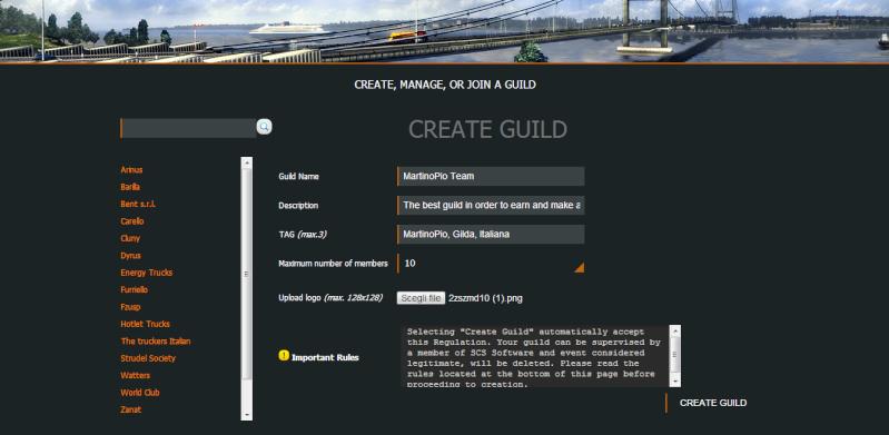 Il multiplayer in Euro Truck Simulator 2 può diventare realtà: la gilda Bub110